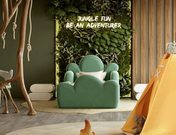 kids bedroom ideas Kids Bedroom Ideas – The Best Jungle-Themed Bedroom Ever Kids Bedroom Projects A Jungle Inspired bedroom Youll Love 9 600x460