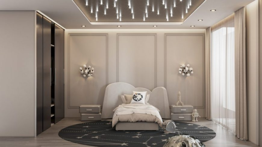 kids bedroom projects Kids Bedroom Projects – A Interstellar Bedroom You'll Love our magical rooms space 2 scaled e1617283350113