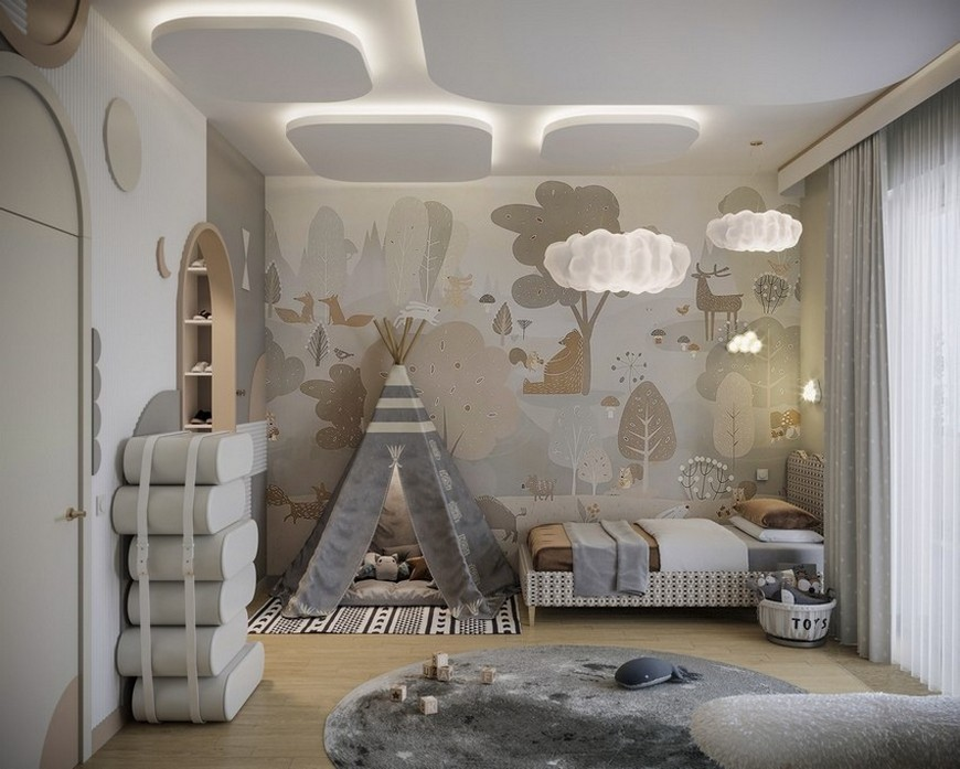 bedroom Kids Bedroom Project Made Out of Clouds Kids Bedroom Project Made Out of Clouds 1