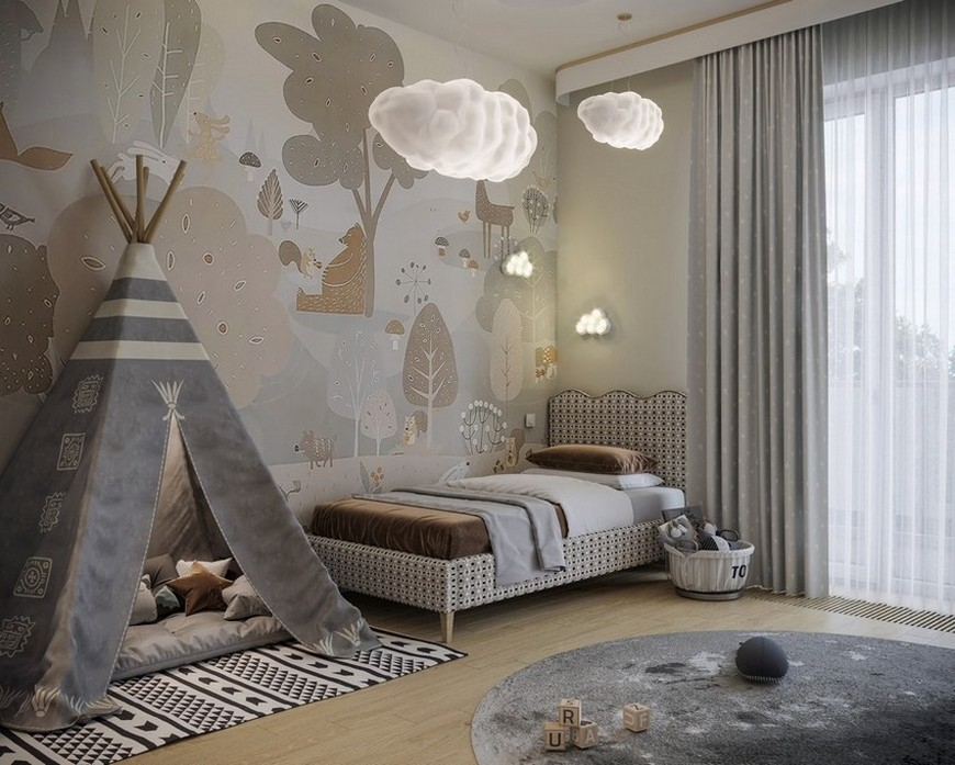 bedroom Kids Bedroom Project Made Out of Clouds Kids Bedroom Project Made Out of Clouds 3