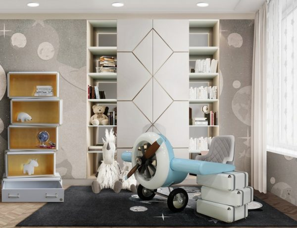incredible kids rooms 30 Incredible Kids Rooms To Inspire your Project – Part 1 30 Incredible Kids Rooms To Inspire your Project 27 600x460