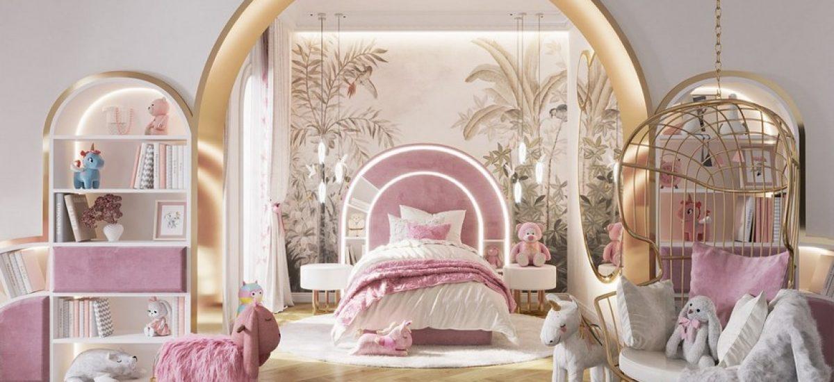 Kids Bedroom Ideas Girls Room A Blossom Fairytale by We Wne  trzu 2 1200x550