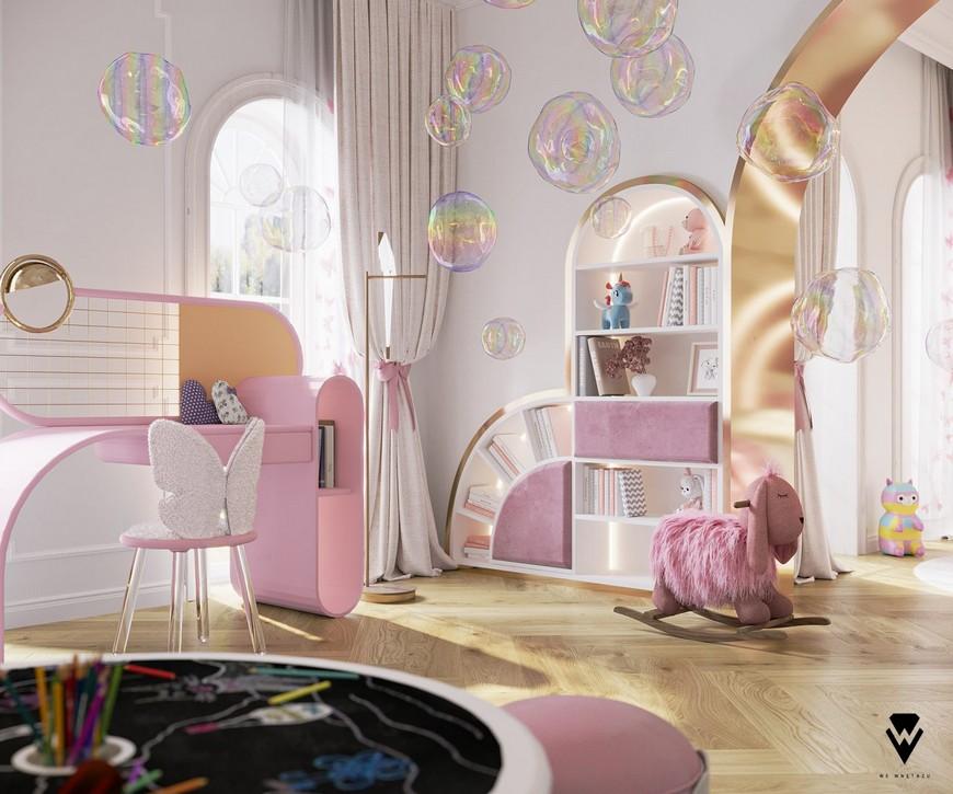 Girls Room A Blossom Fairytale by We Wnętrzu 2