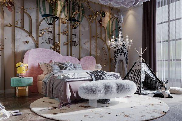 luxury girls room Luxury Girls Room: In a Cloudy Sky, be a Golden Star Luxury Girls Room In a Cloudy Sky be a Golden Star 2 600x400