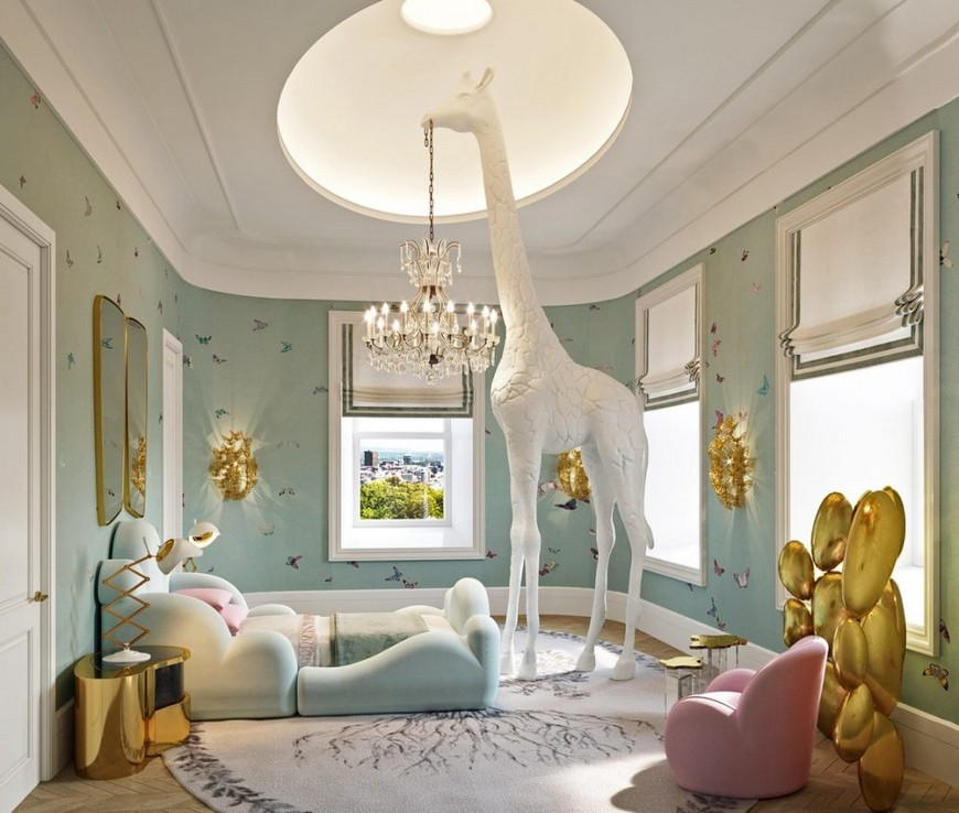britto-charette Luxury Kids Bedroom by Britto-Charette Luxury Kids Bedroom by Britto Charette 1