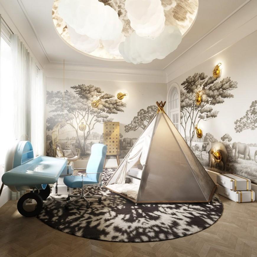 britto-charette Luxury Kids Bedroom by Britto-Charette Luxury Kids Bedroom by Britto Charette 2