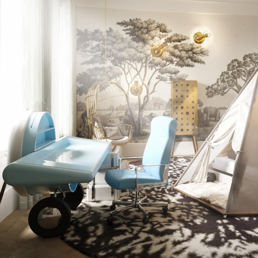 britto-charette Luxury Kids Bedroom by Britto-Charette Luxury Kids Bedroom by Britto Charette 6