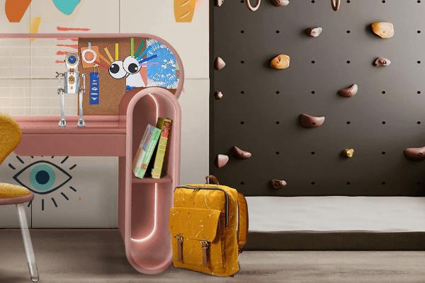 Kids's room kids' room Kids' Room | 5 Trend Interior Design Projects HD MDA KBI 600x400