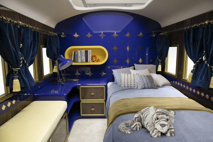 orient express bed