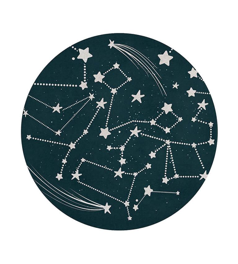 stellar round rug circu