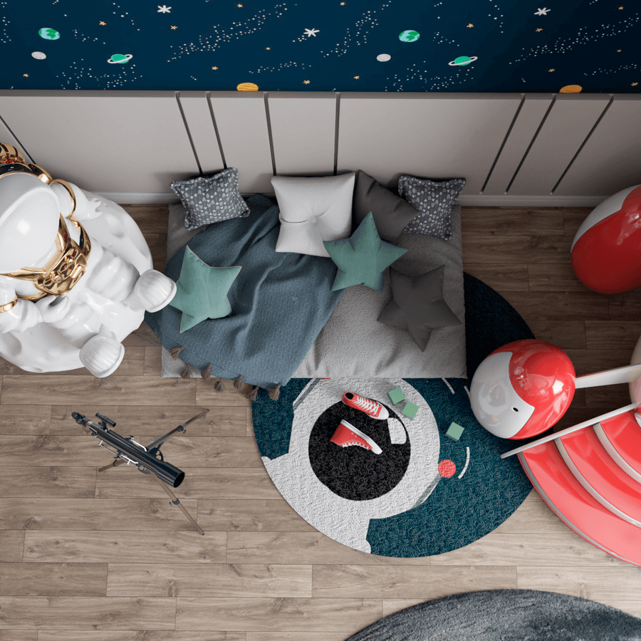 The Magical Play Area From An Outer Space Mission