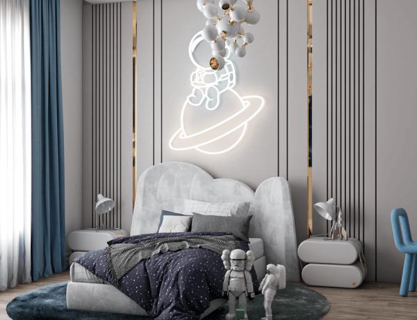 An Magical Sleeping Area By Renata Aquino From Cozy Studio