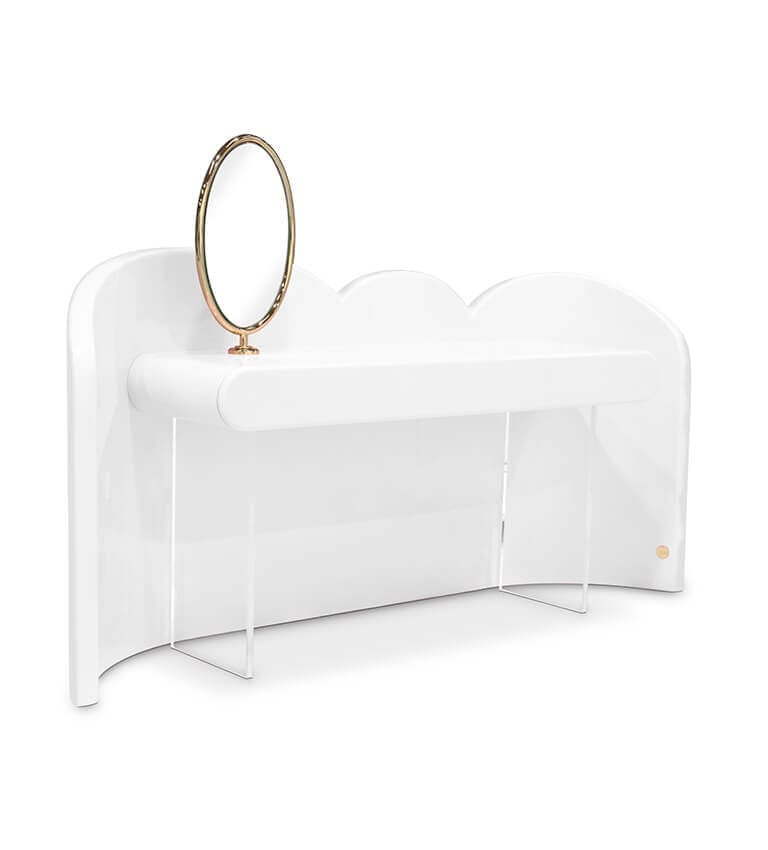 CLOUD VANITY CONSOLE DRESSING TABLE