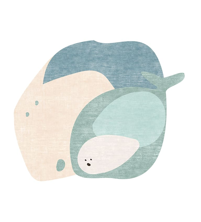 THE WHALE'S TALE RUG