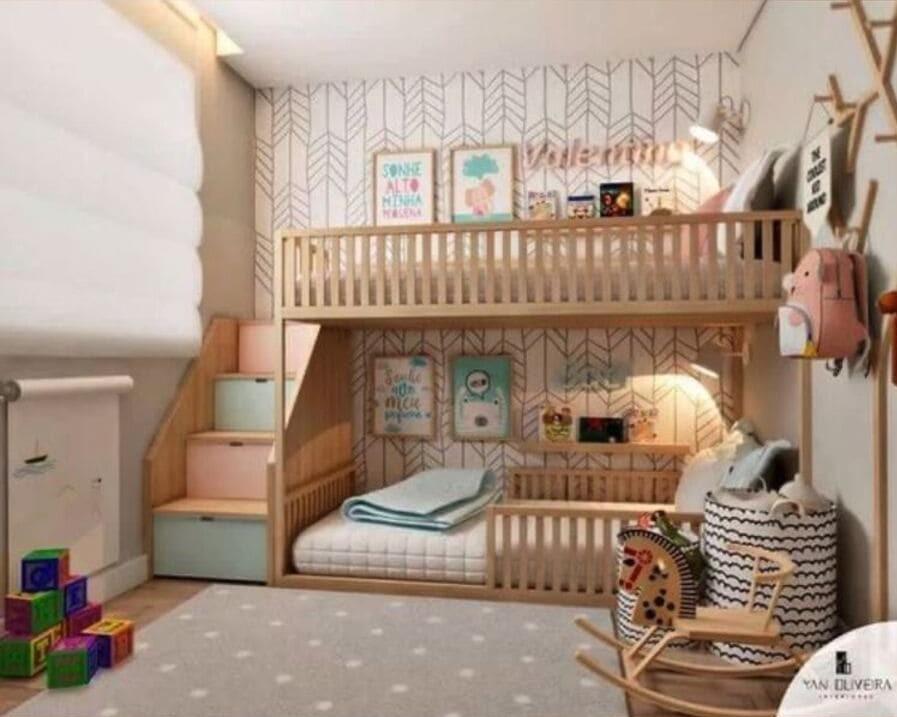 kids' bunk bed