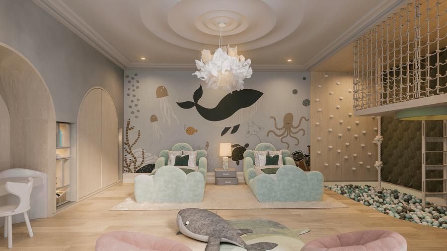 Kids' Sleeping Area