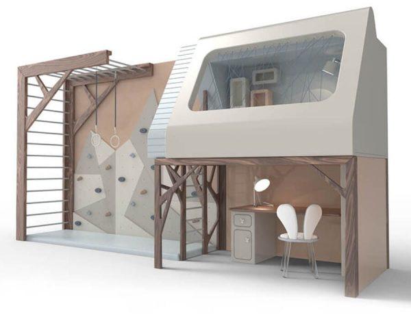 Kids' Furniture | Mogli Playhouse Bunkbed By Circu Magical Furnitu