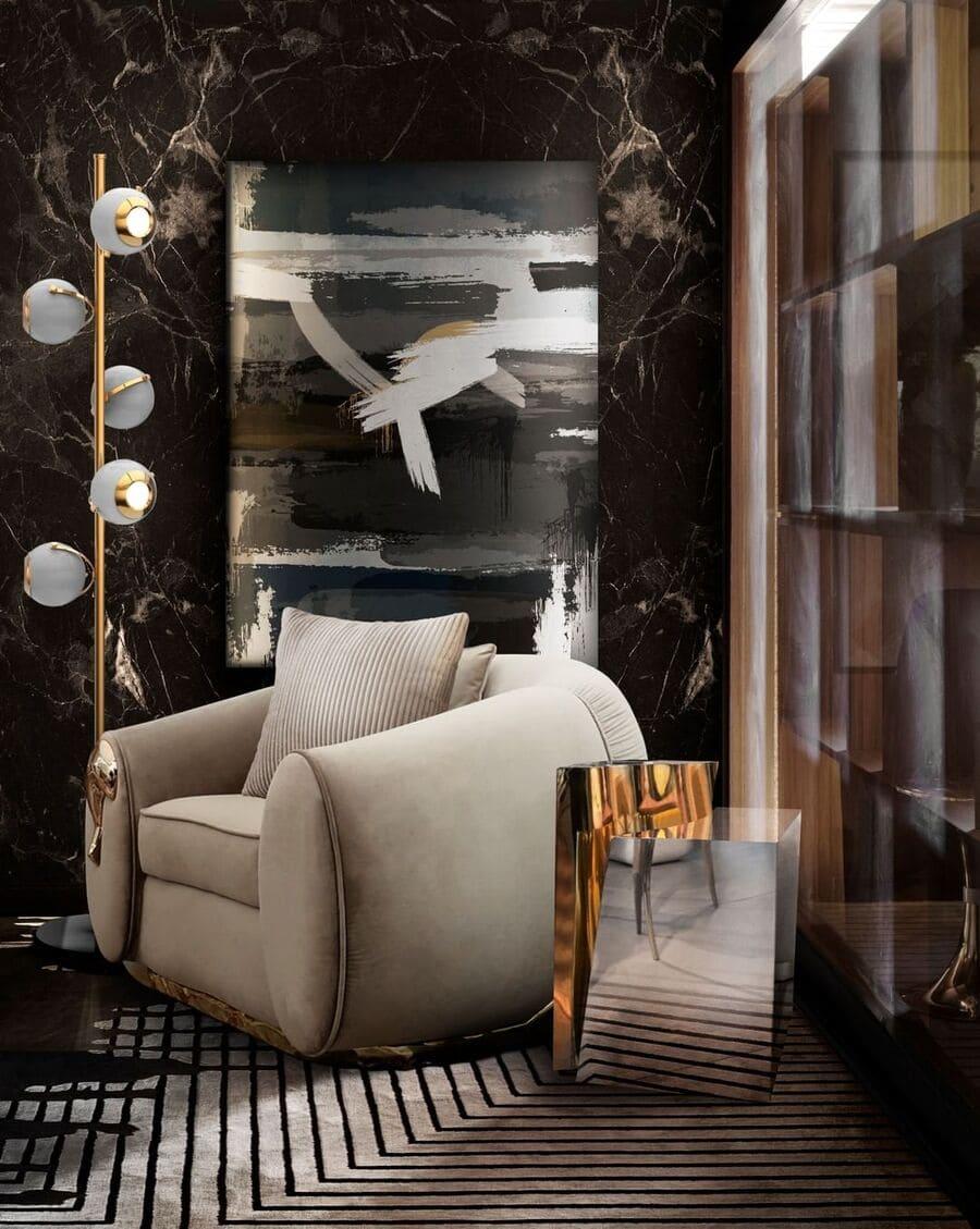luxury furniture for the most elegant reading corner