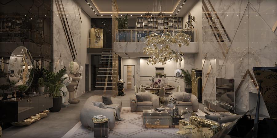 dark toned exquisite furniture design