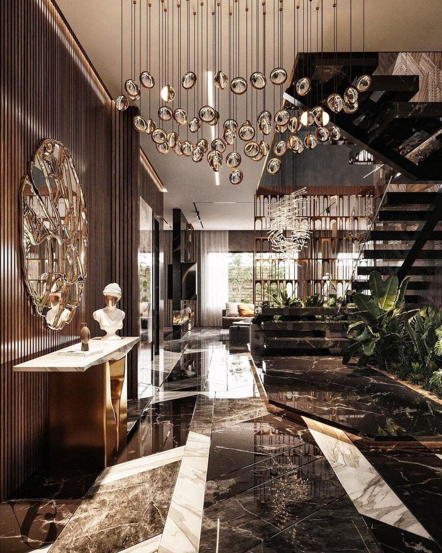 living room design with the most amazing and luxurious furniture