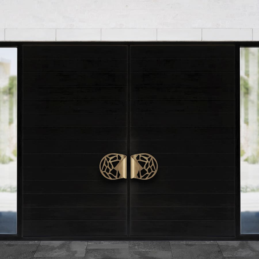 luxury door handle design for a magnificent entrance at home