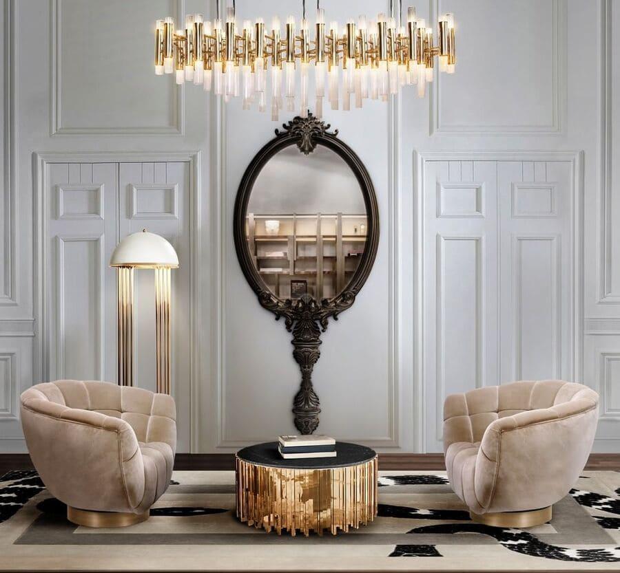 luxury corner with the comfiest armchair design