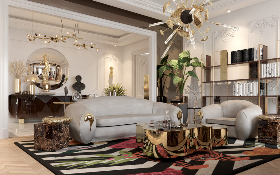 luxury furniture for a luxurious living room design