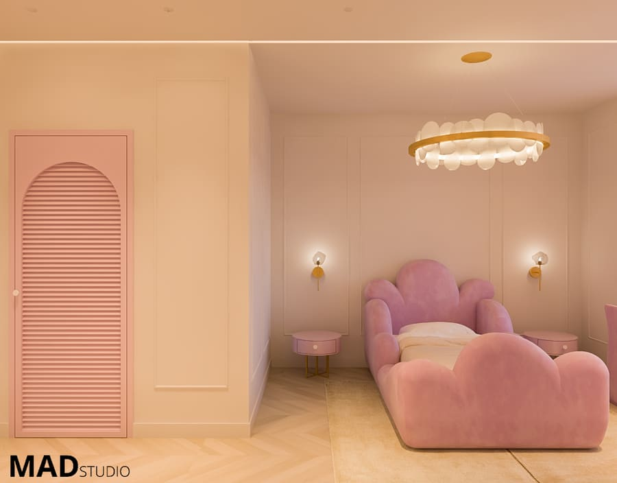 Luxury Girls' Room By Mad Studio