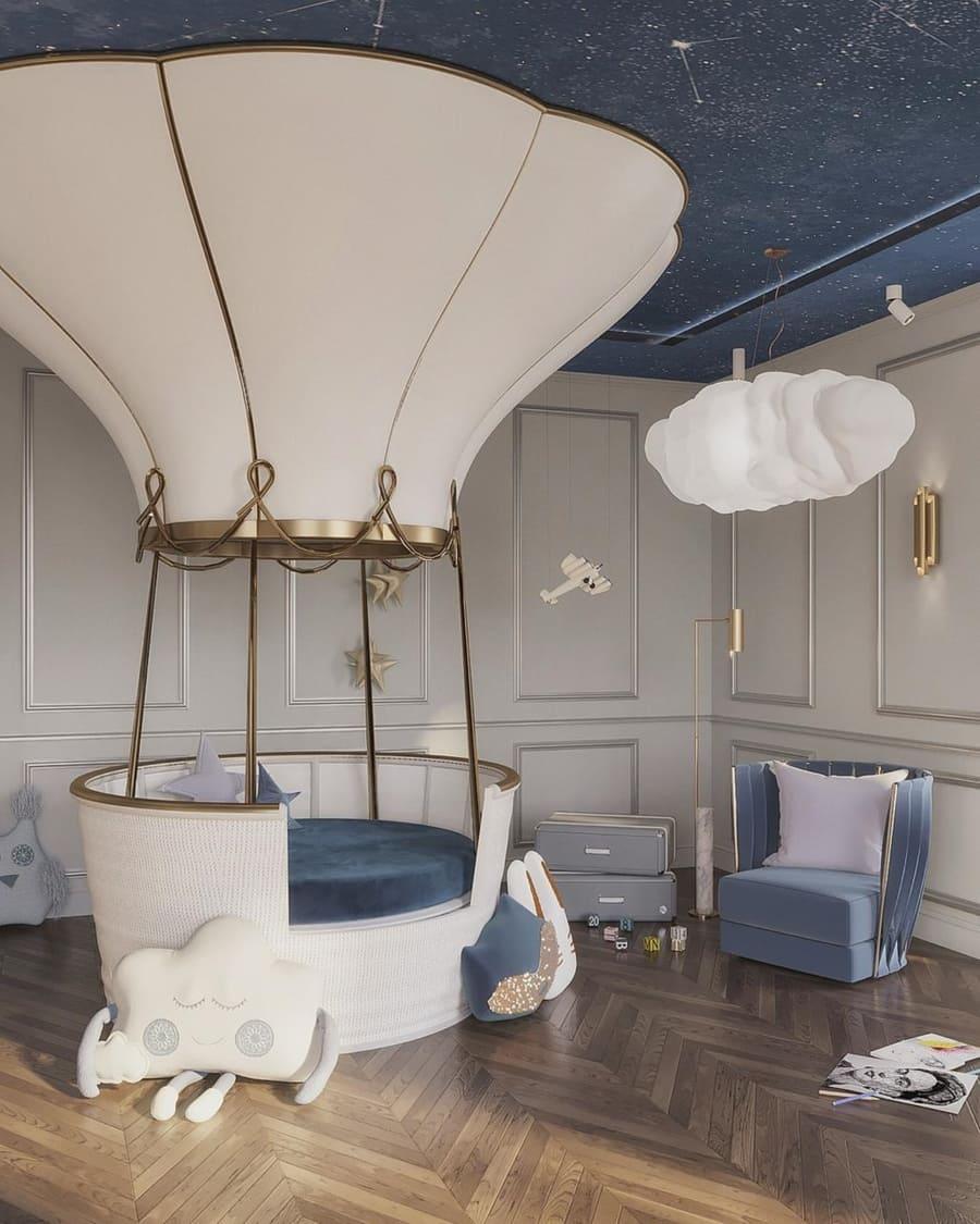 7 Luxury Kids' Bedrooms In Blue