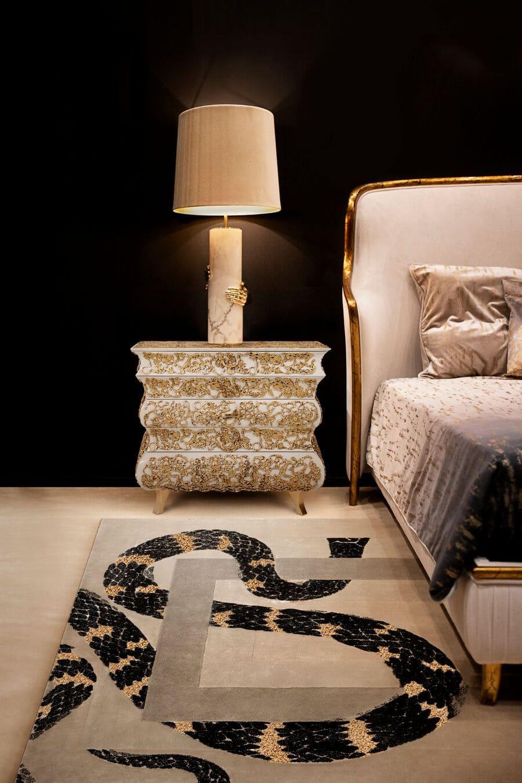 bold rug pattern
