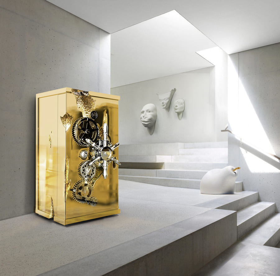 The Millionaire Safe is a statement piece designed to cause an impression.