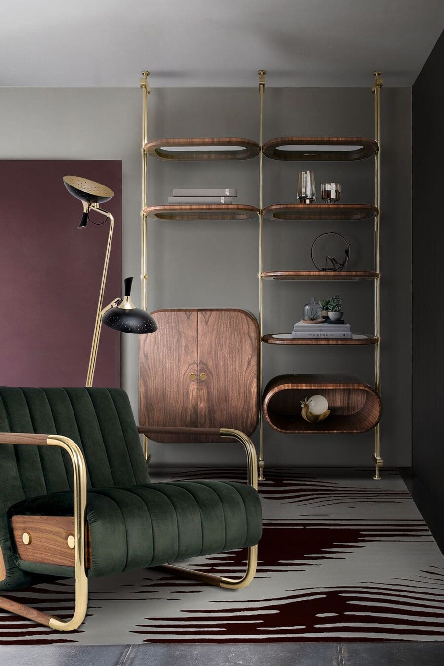 Minelli armchair is a timeless piece that proves mid-century design hasn't gone out of fashion.